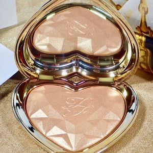 NIB Too Faced Love Light Highlighter Full Sz Gold